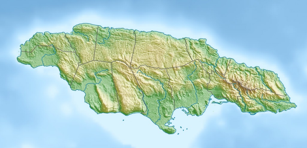 Jamaica_relief_location_map